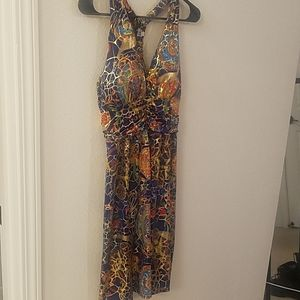 Multi-colored sun dress